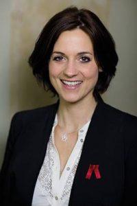 Petra Thomas die Gründerin der Rote Hose Darmkrebsvorsorge