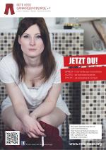 Plakat Frau